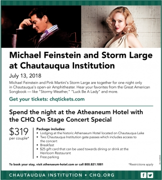 Michael Feinstein And Storm Large