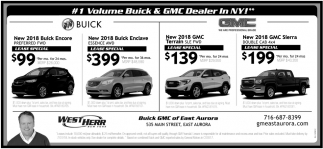 #1 Volume Buick & GMC Dealer In NY!