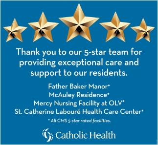 Thank You To Our 5-Star Team