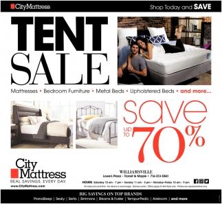 Tent Sale City Mattress Buffalo Ny