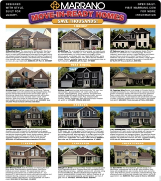 Move-In-Ready Homes