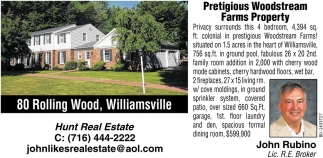Prestigious Woodstream Farm Property