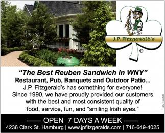 The Best Reuben Sandwich In WNY