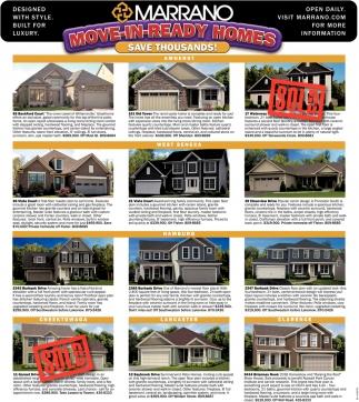 Move-In -Ready Homes , Marrano , West Seneca, NY on