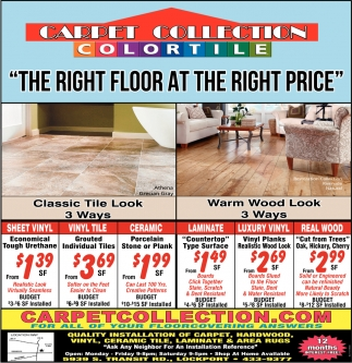 The Right Floor At The Right Price