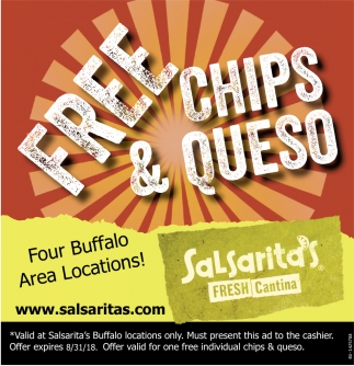 Free Chips & Queso