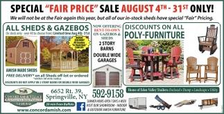 Special Fair Price