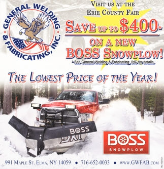 Boss Snowplow!