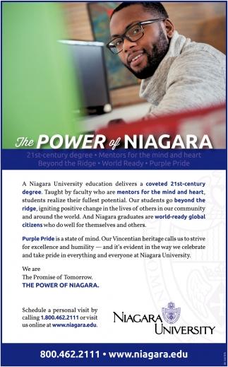 The Power of Niagara