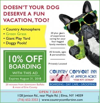 10% Off Boarding