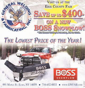 Boss Snowplow!