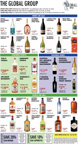 Wines On Sale