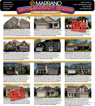 Move-In -Ready Homes