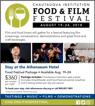 Food & Film Festival
