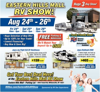 Oregon Car Showrooms Dealerships: RV Show! , Eastern Hills Mall