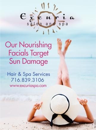 Our Nourishing Facials Target