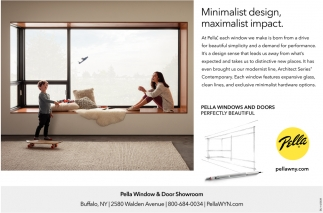 Minimalist Design Pella Windows Door Buffalo Ny
