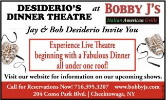 Desiderio's Dinner Theatre