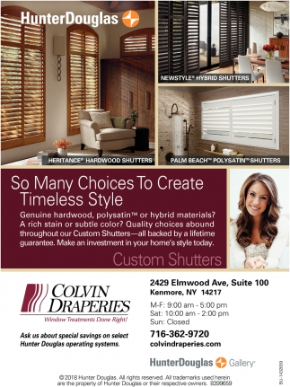 Window Fashions to Match every Design Personality
