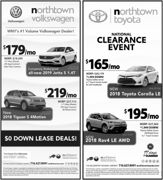 0 Down Lease Deals