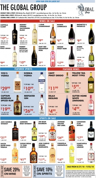 Wines On Sale