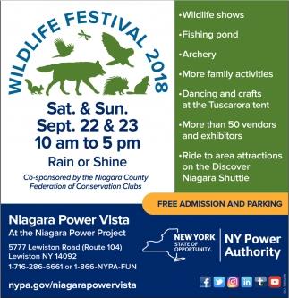Wildlife Festival 2018