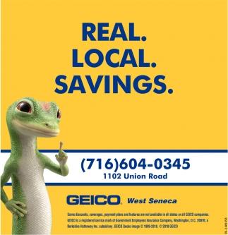 Real. Local. Savings.