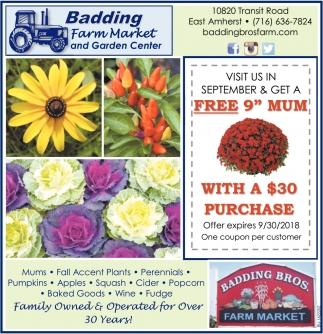 Farm Market & Garden Center