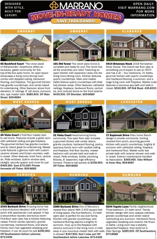Move-In Ready Homes