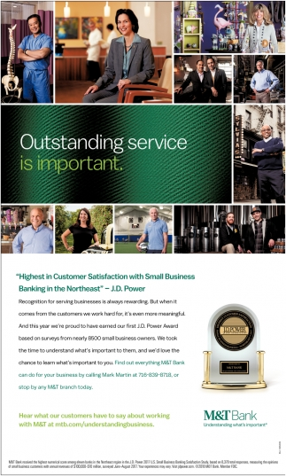 Outstanding Service Is Important