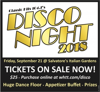 Disco Night 2018
