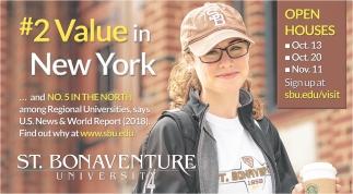 # Value In New York