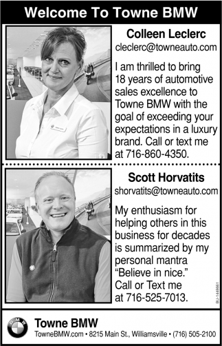 Welcome To Towne BMW
