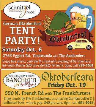 Tent Party Oktoberfest