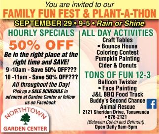 Family Fun Fest & Plant-A-Thon