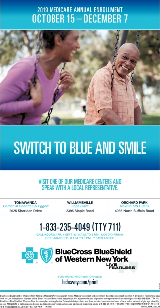 Switch To Blue And Smile