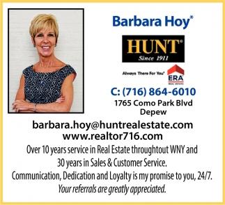 Barbara Hoy