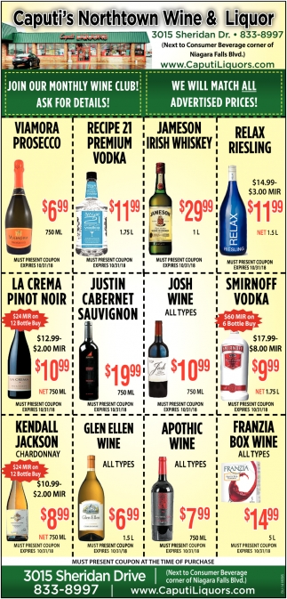 Join Our Monthly Wine Club