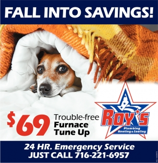 Fall Into Savings!
