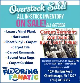Overstock Sale The Flooring Fanatic Cheektowaga NY