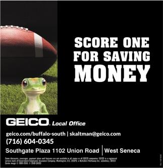 Score One For Saving Money