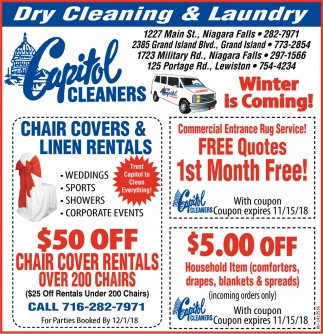 Dry Cleaning & Laundry