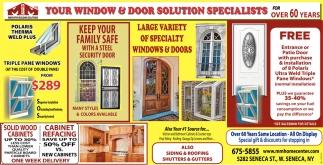 Your Window & Door Solution Specialists