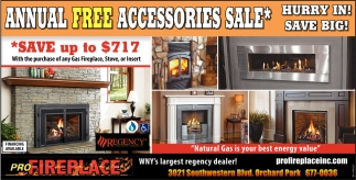 Annual Free Accessories Sale