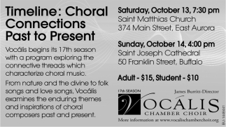 Choral Connections Past To Present