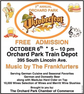 3rd Annual Orchard Park Oktoberfest