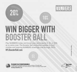 Win Bigger With Booster Ball