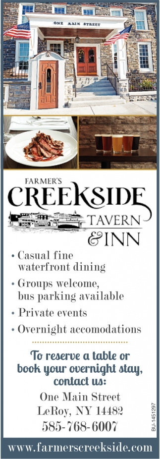 To Reserve A Table Or Book Your Overnight Stay