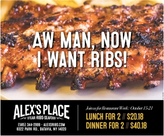 Aw Man, Now I Want Ribs!