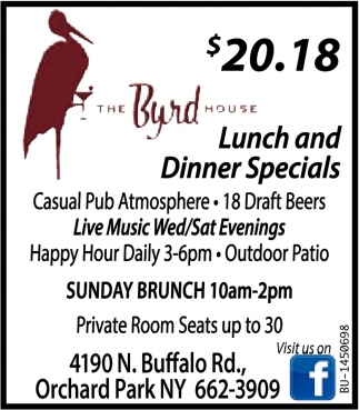 Lunch And Dinner Specials